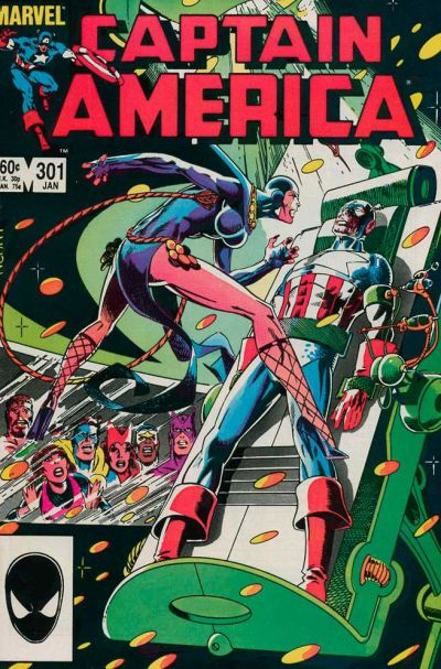 Cover for Captain America (Marvel, 1968 series) #301 [Direct Edition]