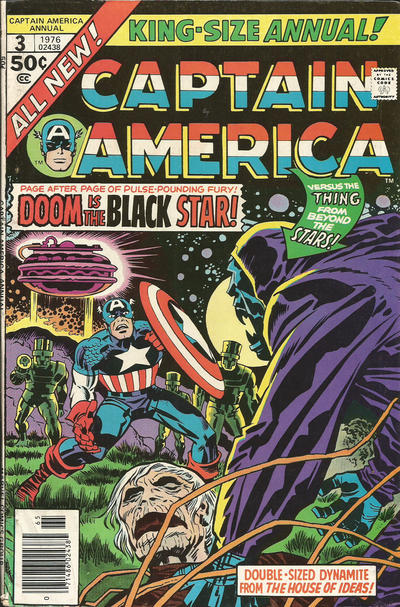 Cover for Captain America Annual (Marvel, 1971 series) #3
