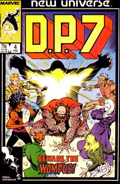 Cover for D.P. 7 (Marvel, 1986 series) #4 [Direct Edition]