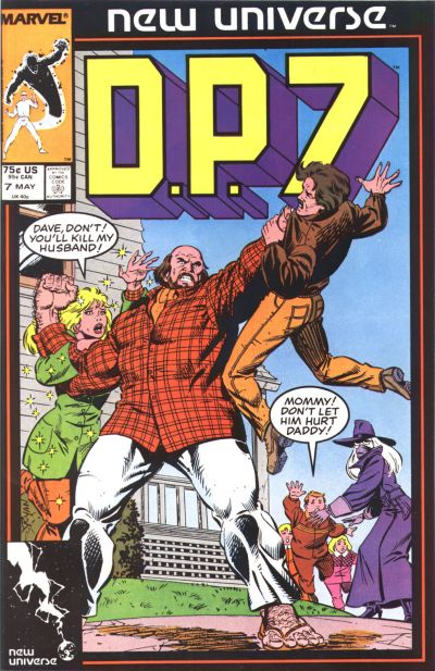 Cover for D.P. 7 (Marvel, 1986 series) #7 [Direct]