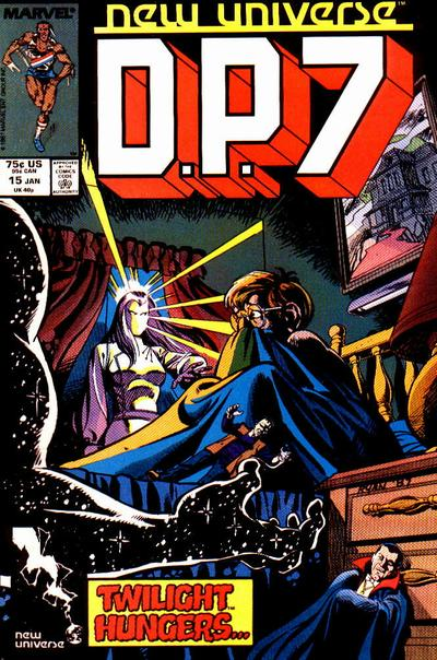 Cover for D.P. 7 (Marvel, 1986 series) #15