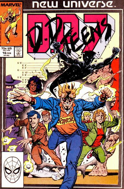 Cover for D.P. 7 (Marvel, 1986 series) #16