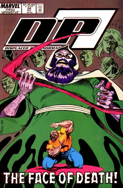 Cover for D.P. 7 (Marvel, 1986 series) #24