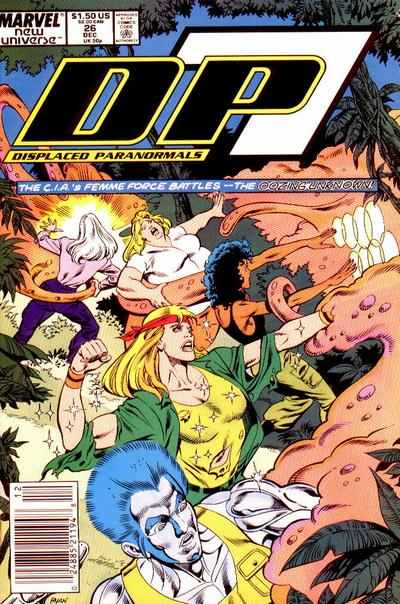 Cover for D.P. 7 (Marvel, 1986 series) #26