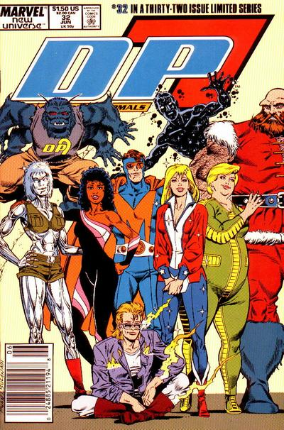Cover for D.P. 7 (Marvel, 1986 series) #32