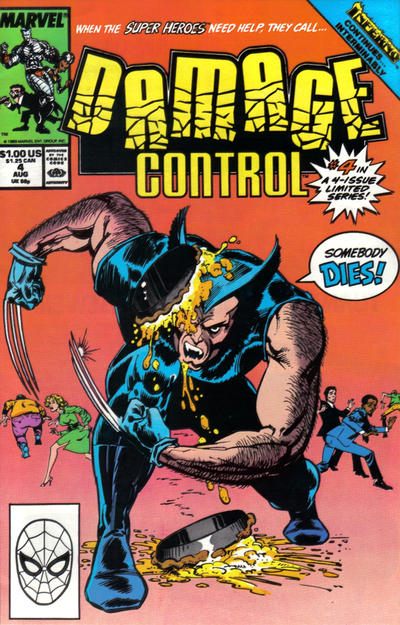 Cover for Damage Control (Marvel, 1989 series) #4
