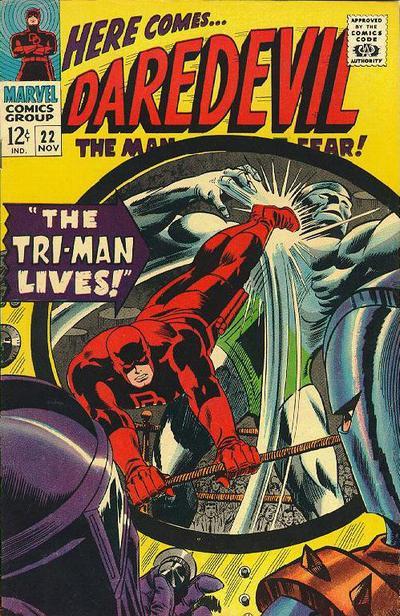 Cover for Daredevil (Marvel, 1964 series) #22