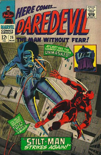 Cover for Daredevil (Marvel, 1964 series) #26 [Regular Edition]