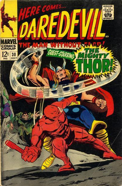 Cover for Daredevil (Marvel, 1964 series) #30 [Regular Edition]