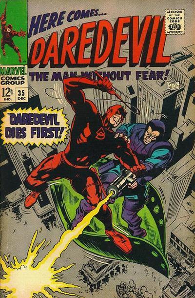 Cover for Daredevil (Marvel, 1964 series) #35