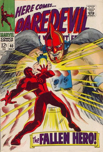 Cover for Daredevil (Marvel, 1964 series) #40