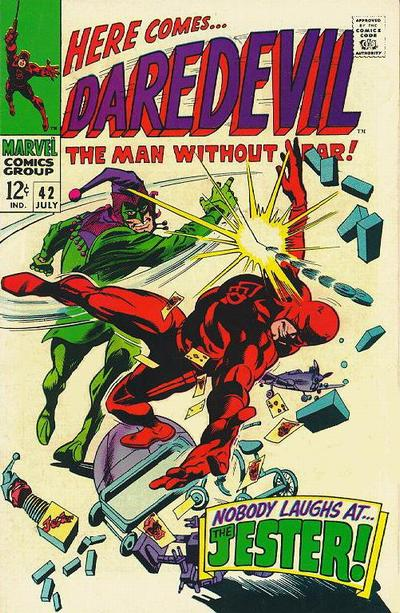 Cover for Daredevil (Marvel, 1964 series) #42