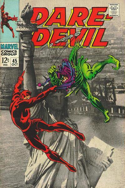 Cover for Daredevil (Marvel, 1964 series) #45