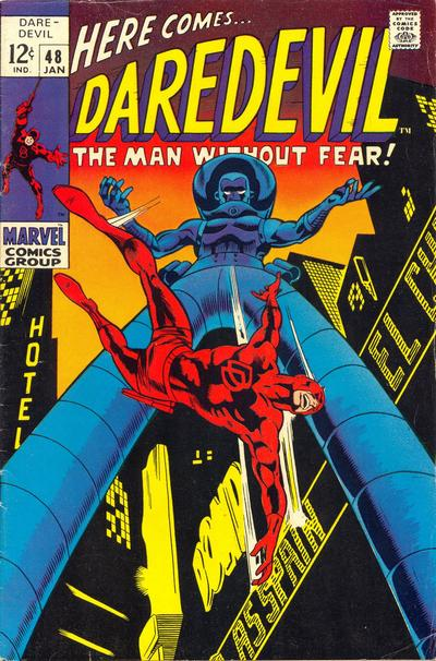 Cover for Daredevil (Marvel, 1964 series) #48