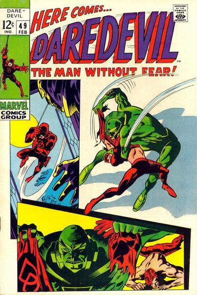 Cover for Daredevil (Marvel, 1964 series) #49