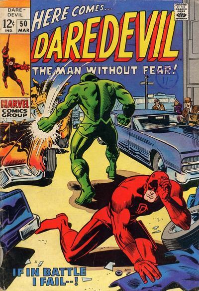 Cover for Daredevil (Marvel, 1964 series) #50