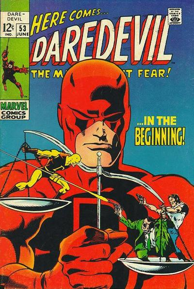 Cover for Daredevil (Marvel, 1964 series) #53 [Regular Edition]
