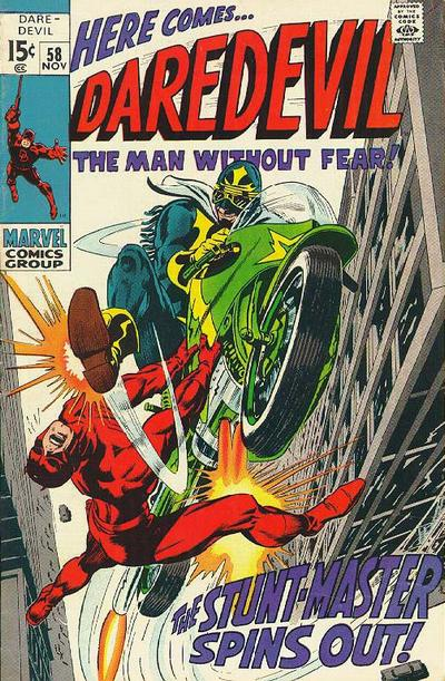 Cover for Daredevil (Marvel, 1964 series) #58 [Regular Edition]