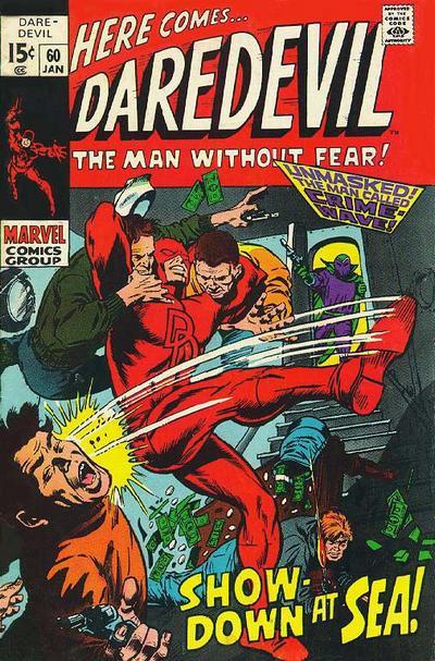 Cover for Daredevil (Marvel, 1964 series) #60 [Regular Edition]