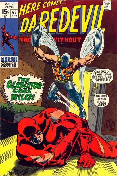 Cover for Daredevil (Marvel, 1964 series) #63 [Regular Edition]