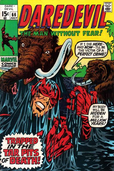 Cover for Daredevil (Marvel, 1964 series) #66 [Regular Edition]
