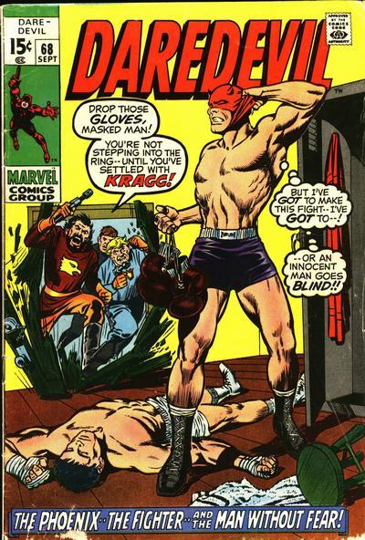 Cover for Daredevil (Marvel, 1964 series) #68 [Regular Edition]