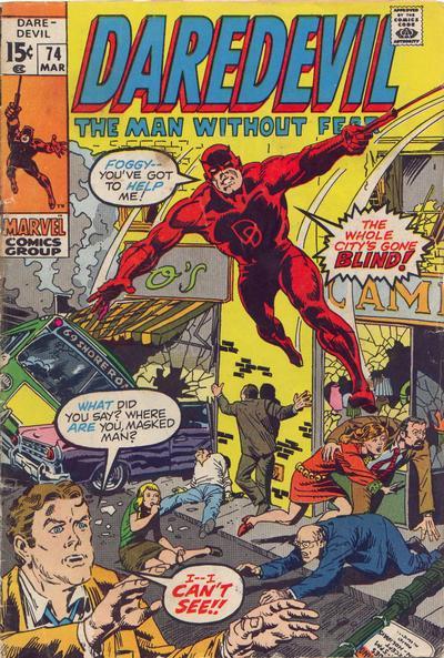 Cover for Daredevil (Marvel, 1964 series) #74 [Regular Edition]