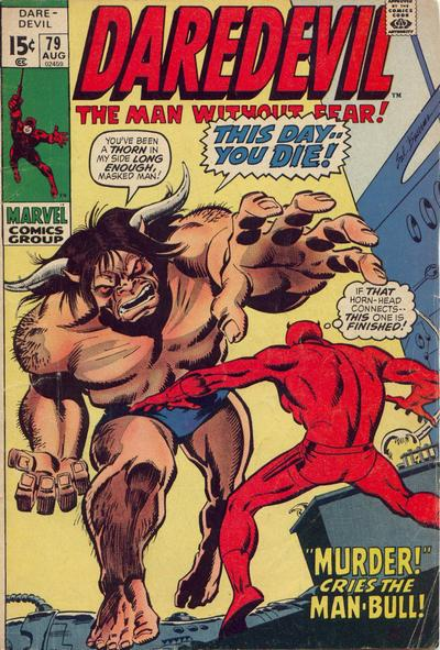 Cover for Daredevil (Marvel, 1964 series) #79 [Regular Edition]