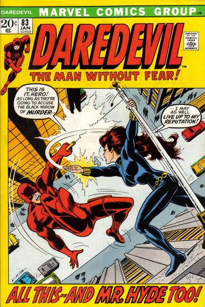 Cover for Daredevil (Marvel, 1964 series) #83 [Regular Edition]