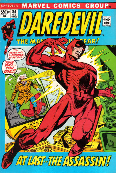 Cover for Daredevil (Marvel, 1964 series) #84 [Regular Edition]