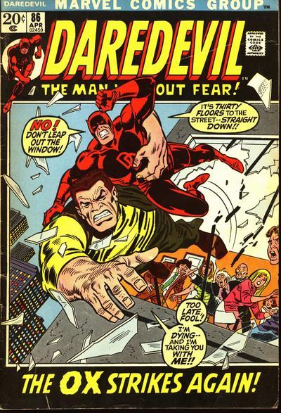 Cover for Daredevil (Marvel, 1964 series) #86 [Regular Edition]