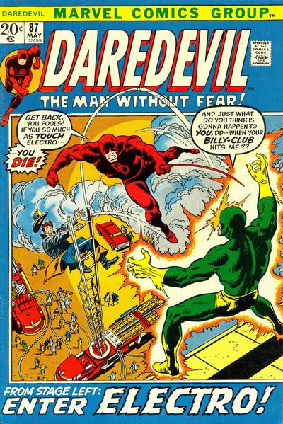 Cover for Daredevil (Marvel, 1964 series) #87 [Regular Edition]
