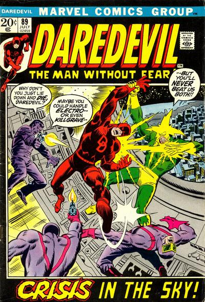Cover for Daredevil (Marvel, 1964 series) #89 [Regular Edition]