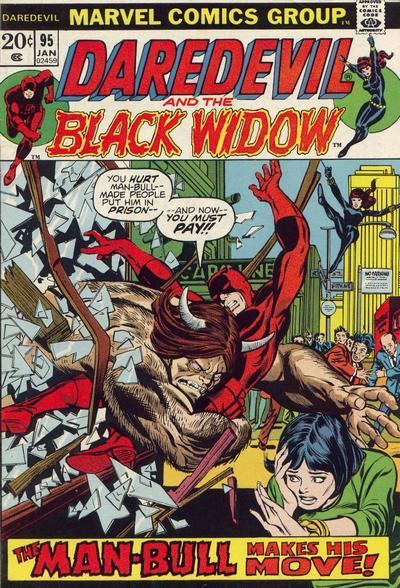 Cover for Daredevil (Marvel, 1964 series) #95 [Regular Edition]