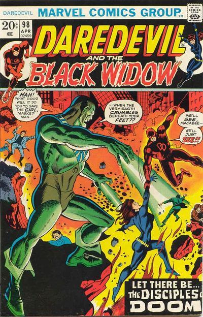 Cover for Daredevil (Marvel, 1964 series) #98 [Regular Edition]