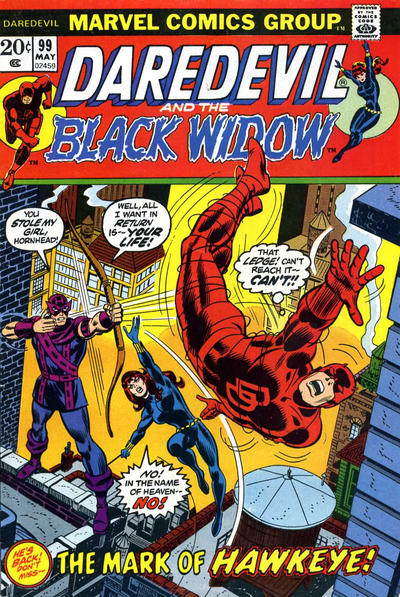 Cover for Daredevil (Marvel, 1964 series) #99 [Regular Edition]