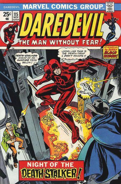 Cover for Daredevil (Marvel, 1964 series) #115 [British]