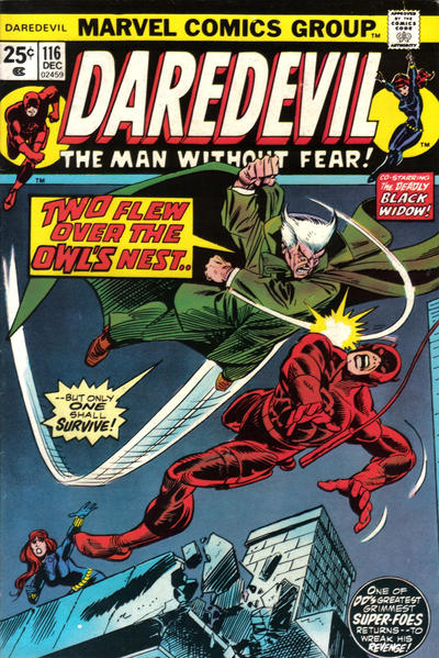 Cover for Daredevil (Marvel, 1964 series) #116 [Regular Edition]