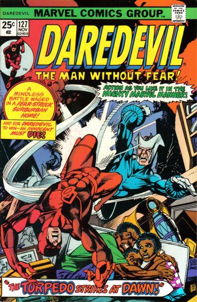 Cover for Daredevil (Marvel, 1964 series) #127 [British]