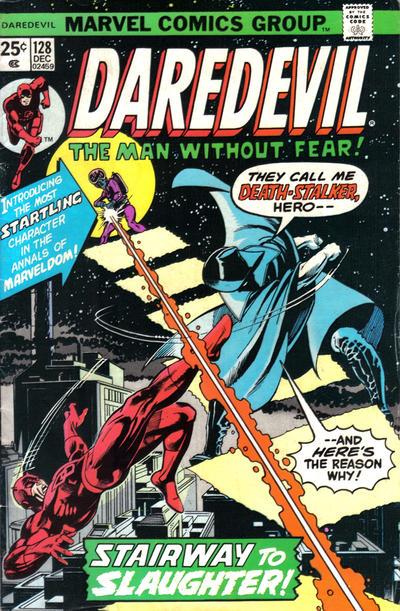 Cover for Daredevil (Marvel, 1964 series) #128 [Regular Edition]