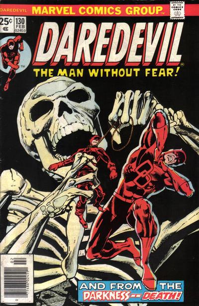 Cover for Daredevil (Marvel, 1964 series) #130 [Regular Edition]
