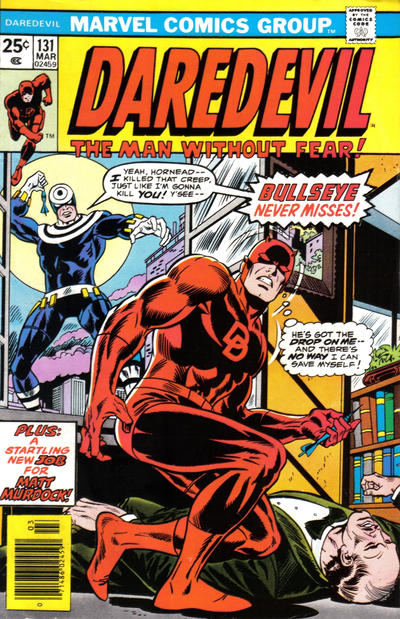 Cover for Daredevil (Marvel, 1964 series) #131 [Regular Edition]