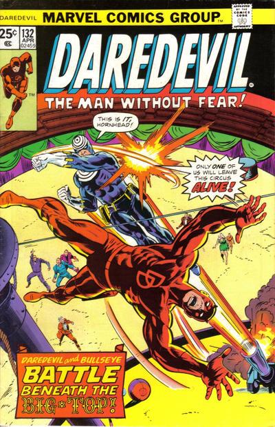 Cover for Daredevil (Marvel, 1964 series) #132 [British]