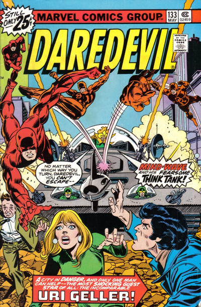 Cover for Daredevil (Marvel, 1964 series) #133 [British]