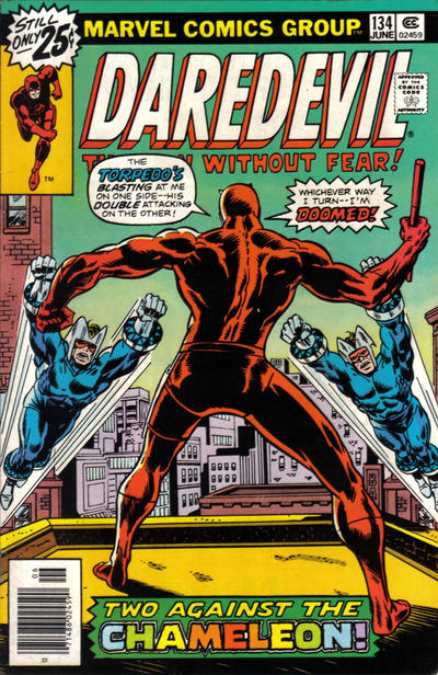 Cover for Daredevil (Marvel, 1964 series) #134 [Regular Edition]