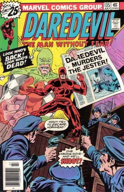 Cover for Daredevil (Marvel, 1964 series) #135 [British]