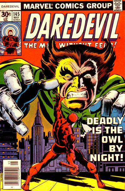 Cover for Daredevil (Marvel, 1964 series) #145 [British]