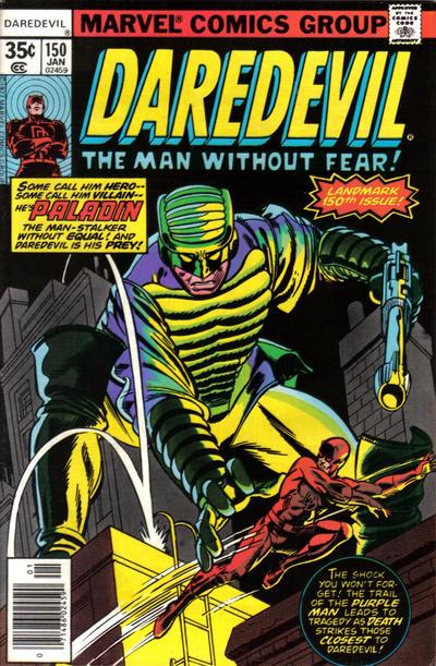 Cover for Daredevil (Marvel, 1964 series) #150