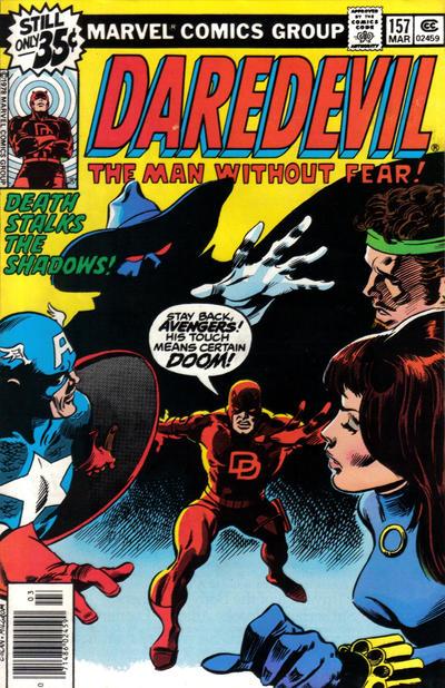 Cover for Daredevil (Marvel, 1964 series) #157 [Regular Edition]