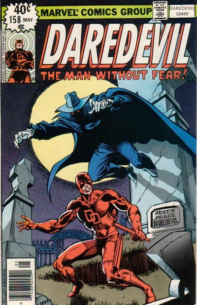 Cover for Daredevil (Marvel, 1964 series) #158 [Newsstand Edition]